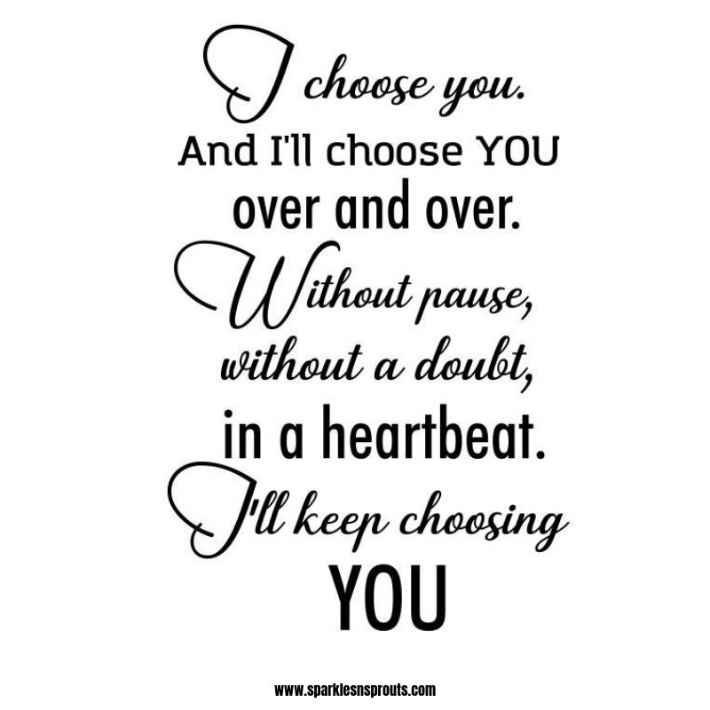chhose you-ed