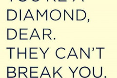 Diamond break