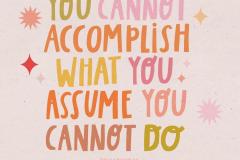 accomplish-assume-cannot