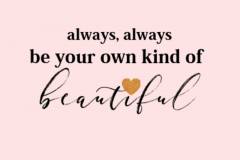 own kind of beauty-ss