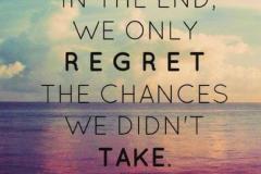 regret quit