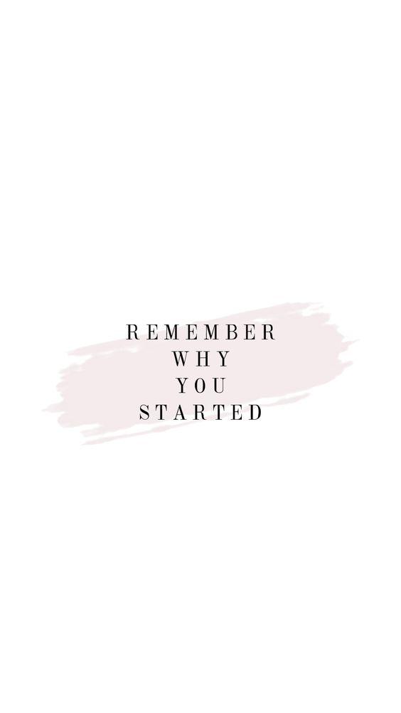 why-you-started