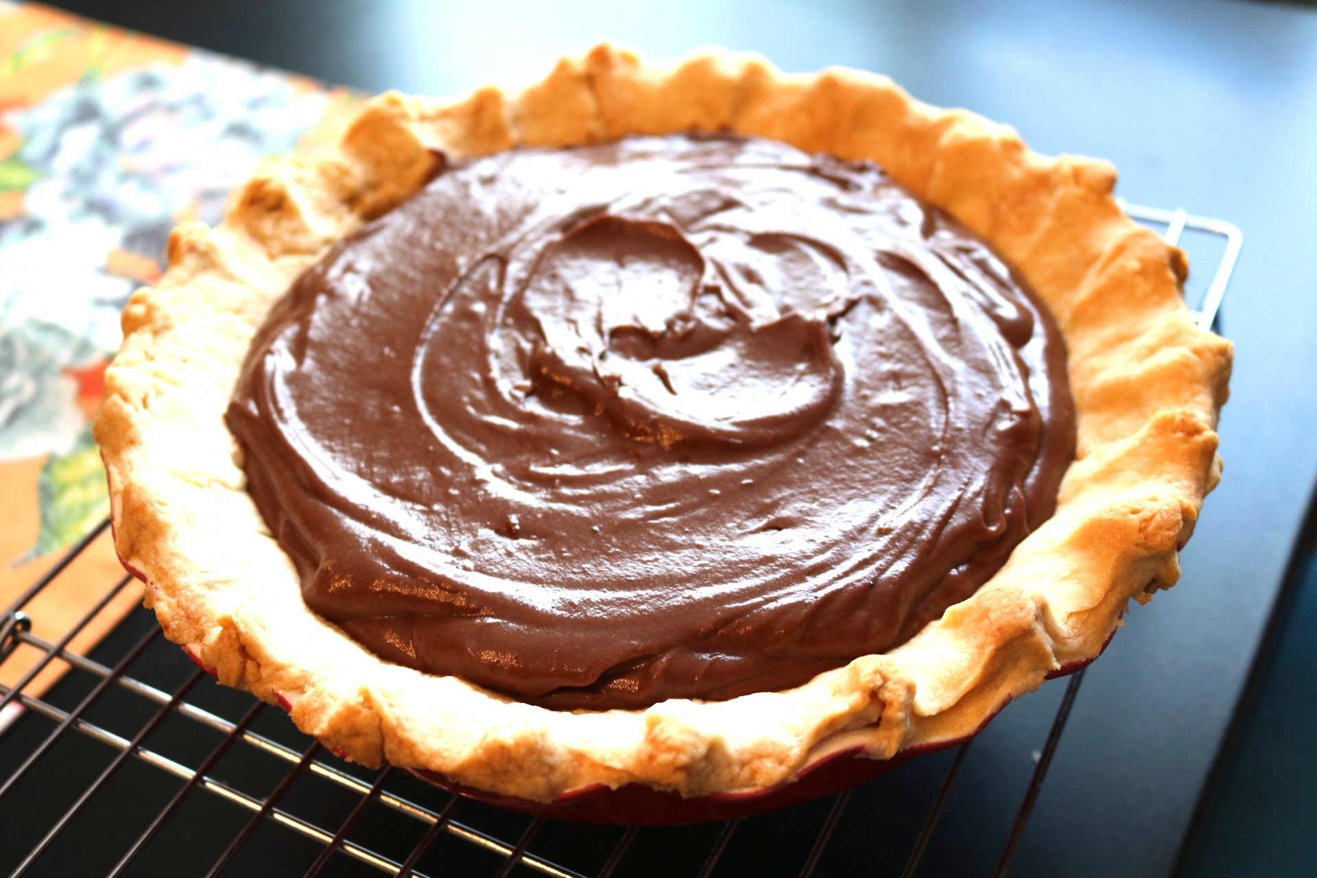 how to make chocolate cream pie filling