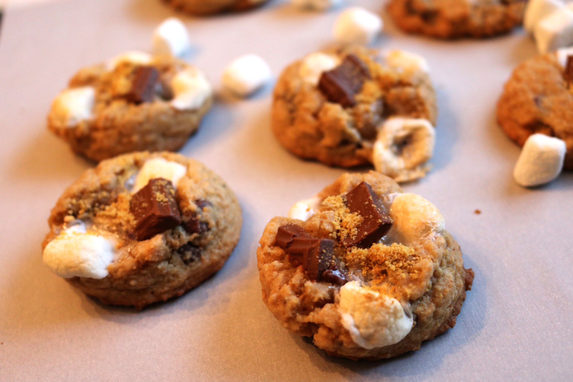 smore cookie wide