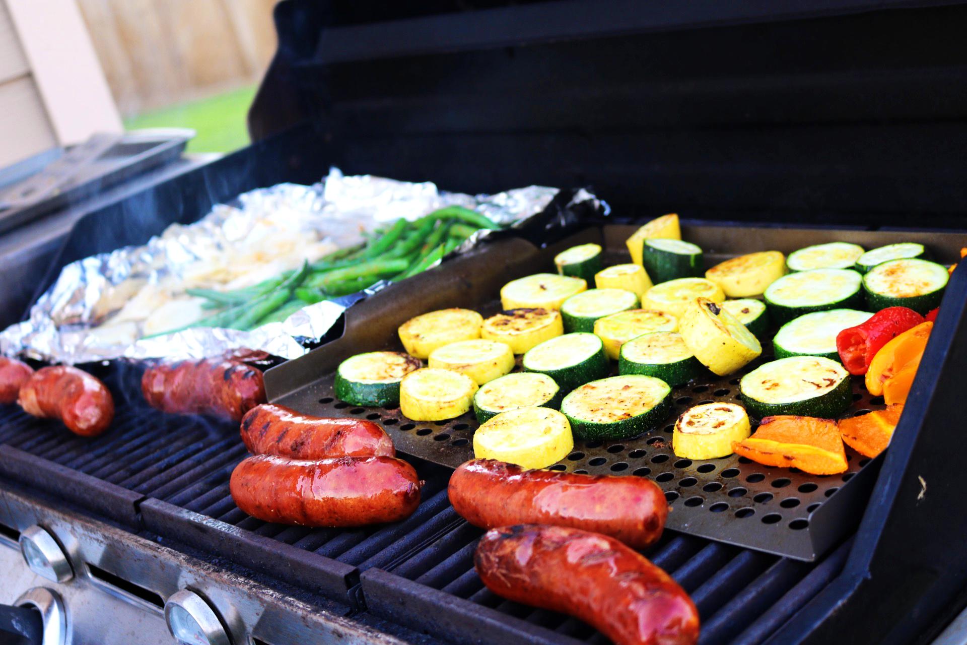 veg saus-grill