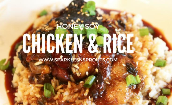 Honey Soy Chicken Rice